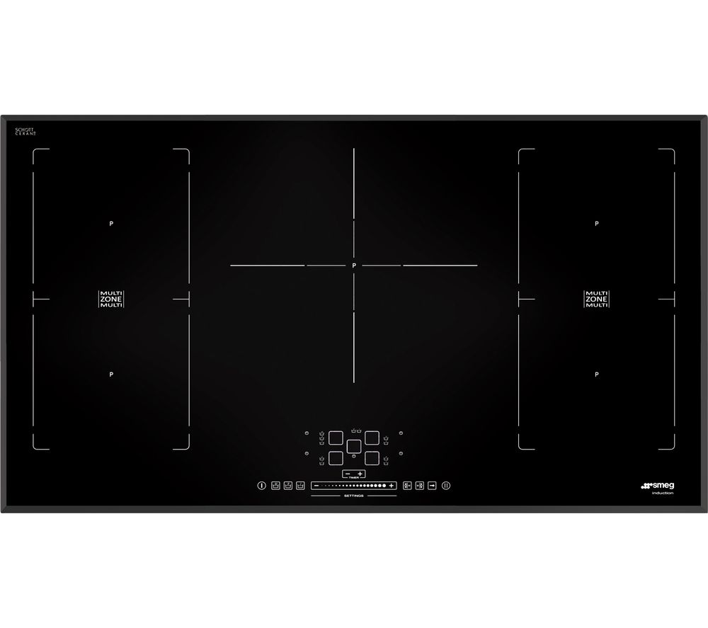 SMEG SIM592B Electric Induction Hob - Black