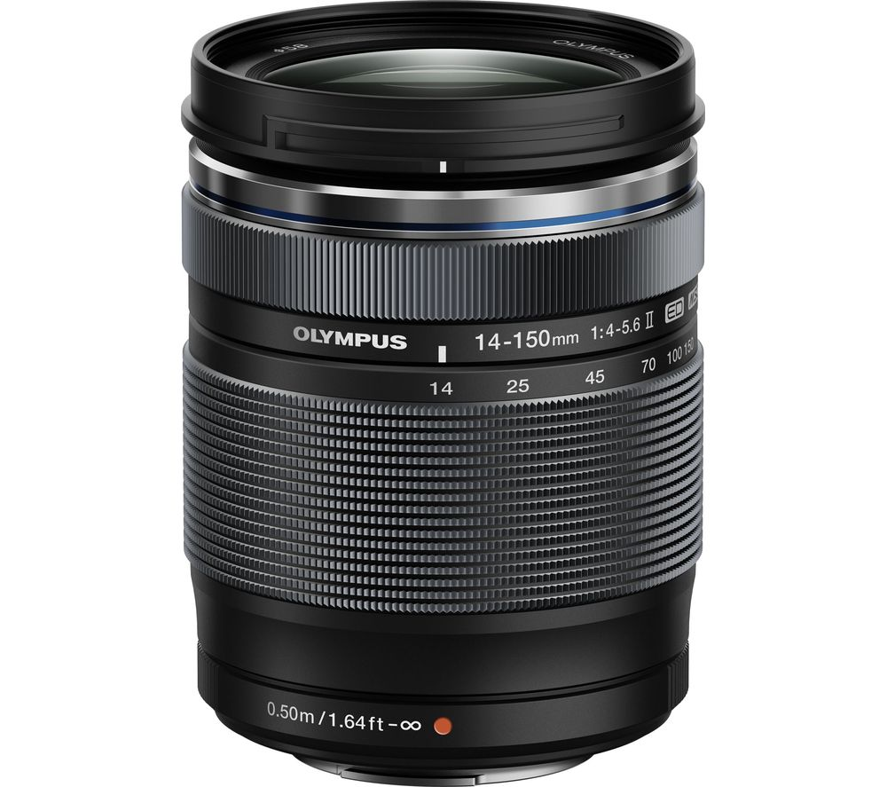 OLYMPUS M.ZUIKO DIGITAL ED 14–150 mm 1:4.0–5.6 II Wide-angle Zoom Lens