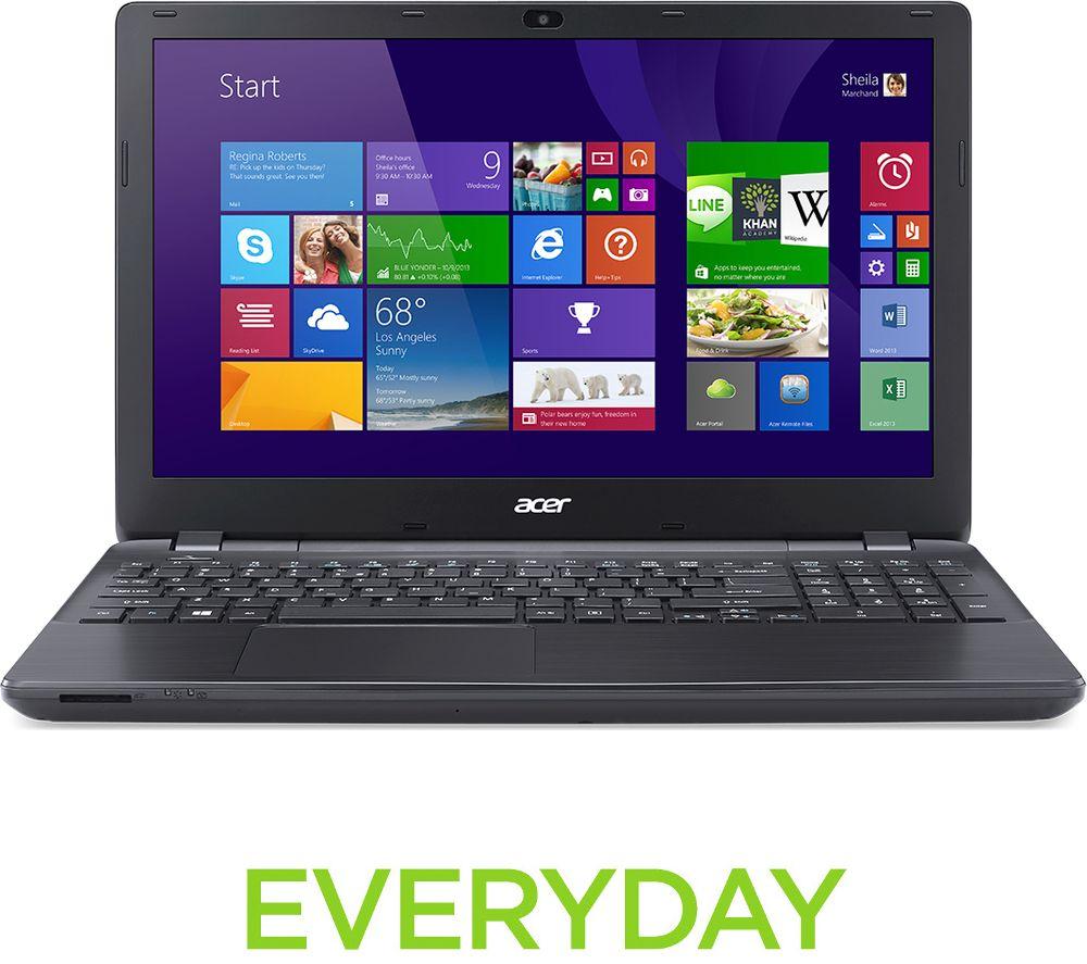 acer aspire e5 523 904b 15 6 laptop black deals pc world. Black Bedroom Furniture Sets. Home Design Ideas