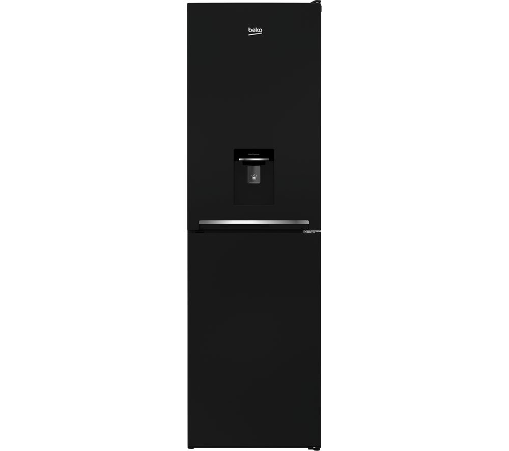 buy beko csg1582db 50 50 fridge freezer black free. Black Bedroom Furniture Sets. Home Design Ideas