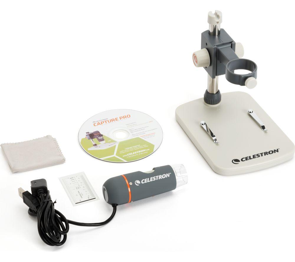 CELESTRON 44308-CGL Handheld Digital Pro Microscope