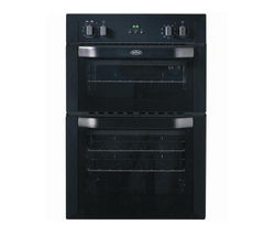 BELLING BI90MF Electric Double Oven - Black