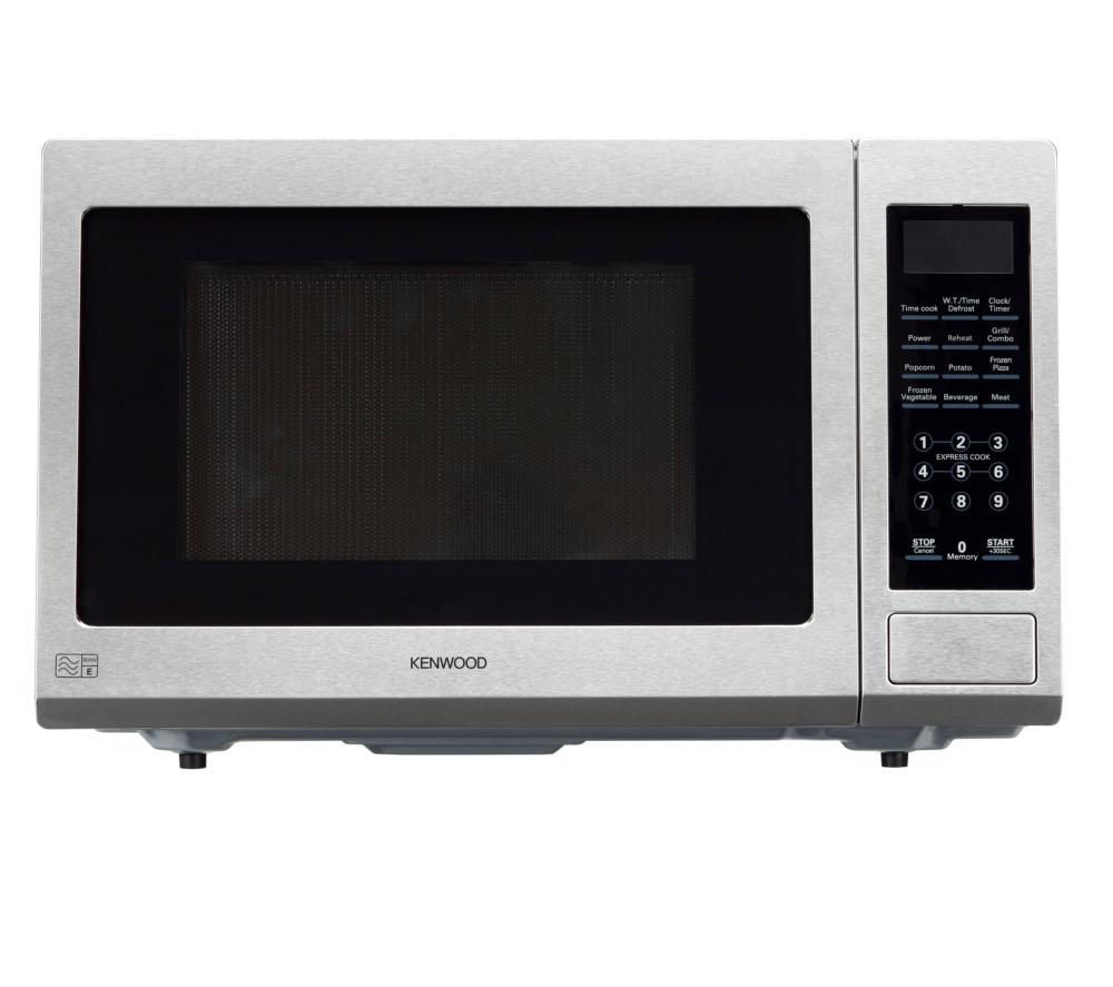 buy kenwood k30gss13 microwave with grill stainless steel free delivery currys. Black Bedroom Furniture Sets. Home Design Ideas