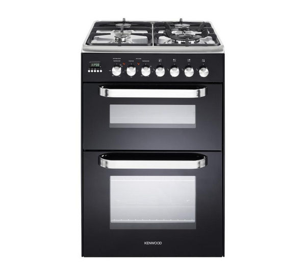 KENWOOD CK231DF Dual Fuel Cooker - Black