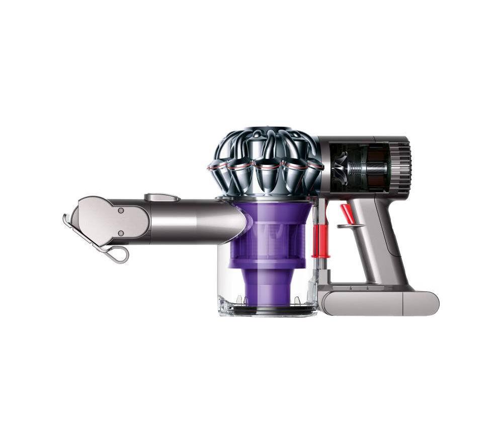 DYSON V6 Trigger Pro Handheld Vacuum Cleaner - Nickel & Purple