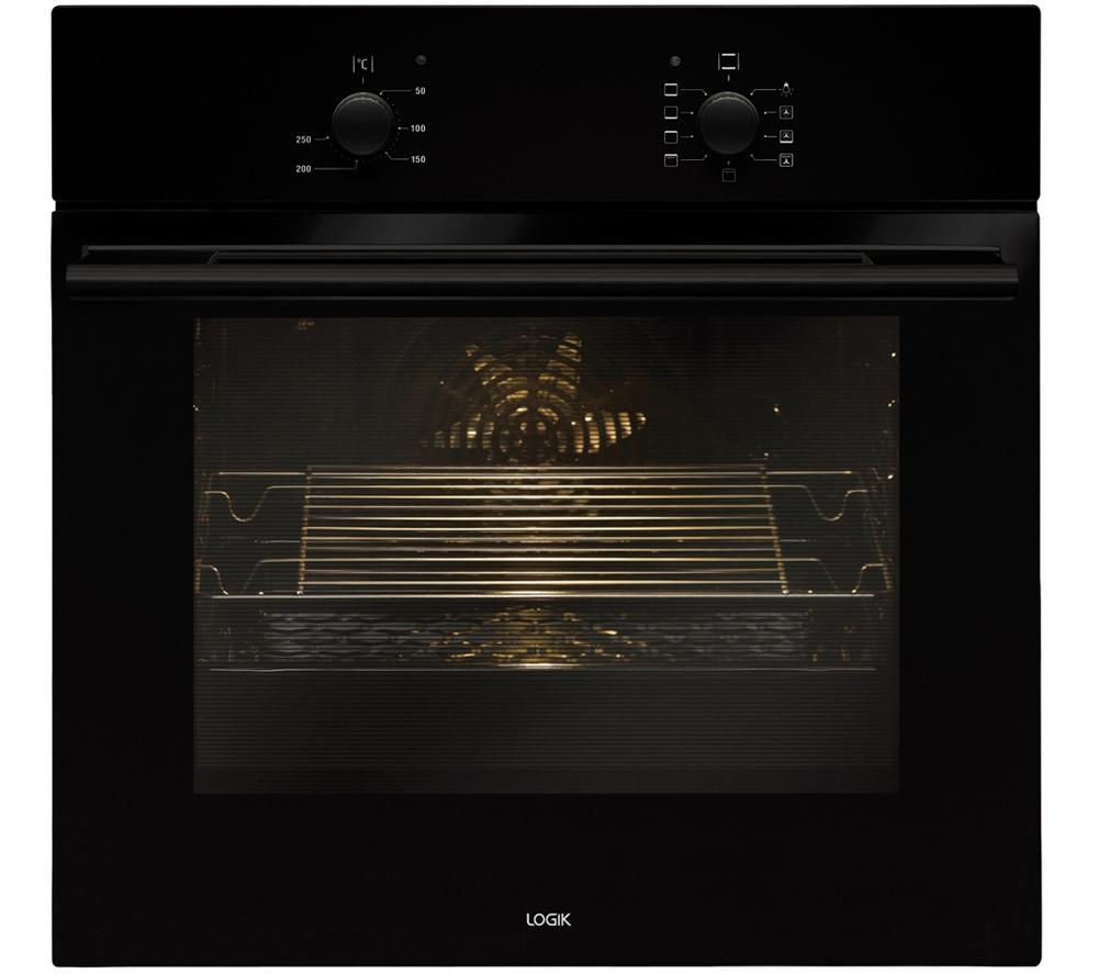 Image of Logik LBFANB14 Electric Oven - Black, Black