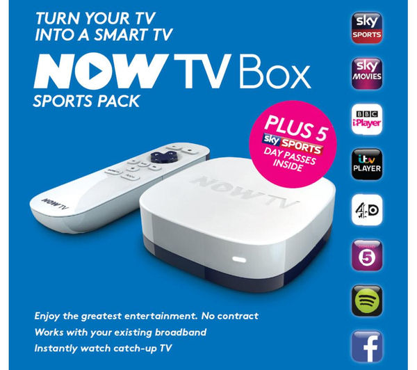 Buy Now Tv Hd Smart Tv Box Sports Bundle Free Delivery
