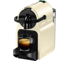 NESPRESSO by Magimix Inissia 11351 Coffee Machine - Vanilla Cream