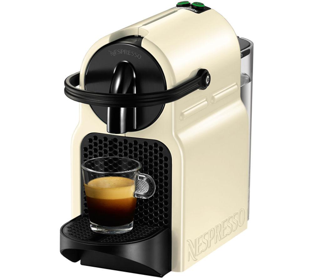 NESPRESSO  11351 Nespresso Inissia Coffee Machine  Vanilla Cream Cream