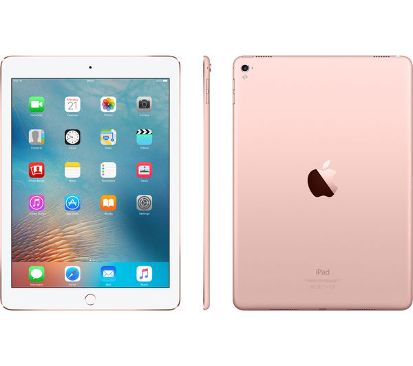 buy apple 9 7 ipad pro 32 gb rose gold free delivery. Black Bedroom Furniture Sets. Home Design Ideas