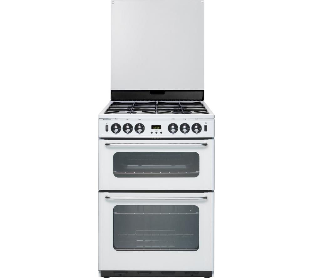 NEW WORLD Newhome 600TSIDLm Gas Cooker - White