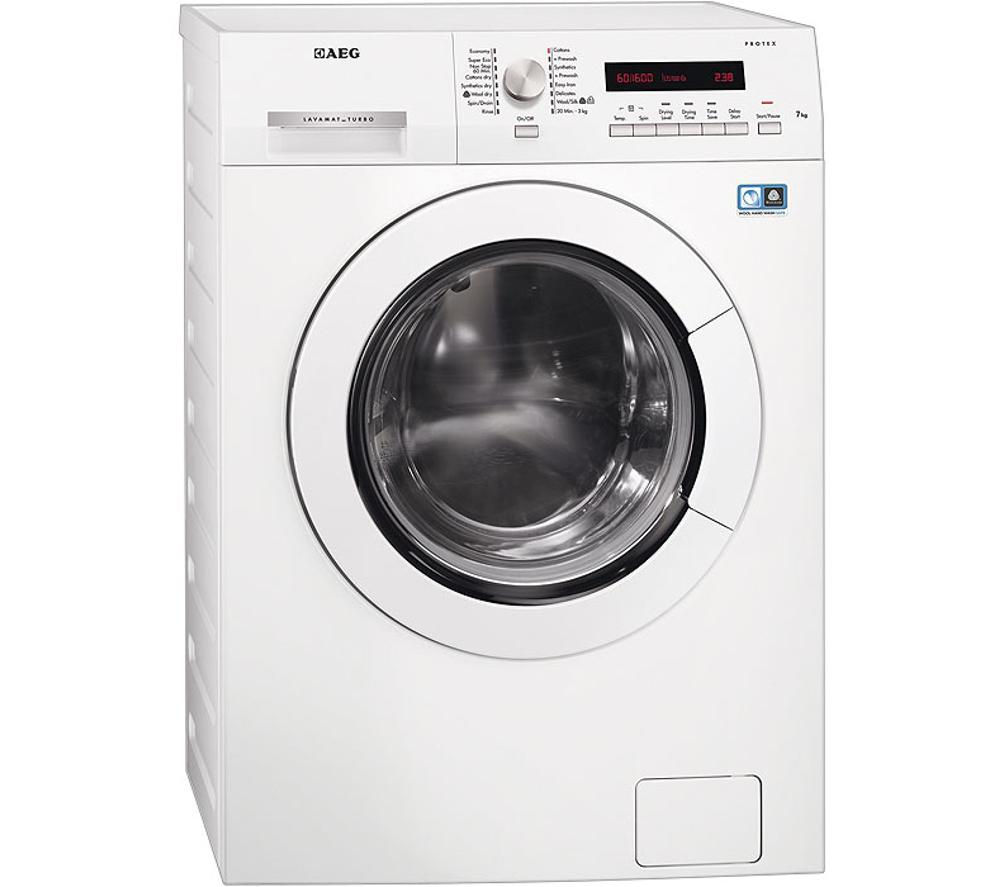 Buy Aeg L75670wd Washer Dryer White Free Delivery Currys