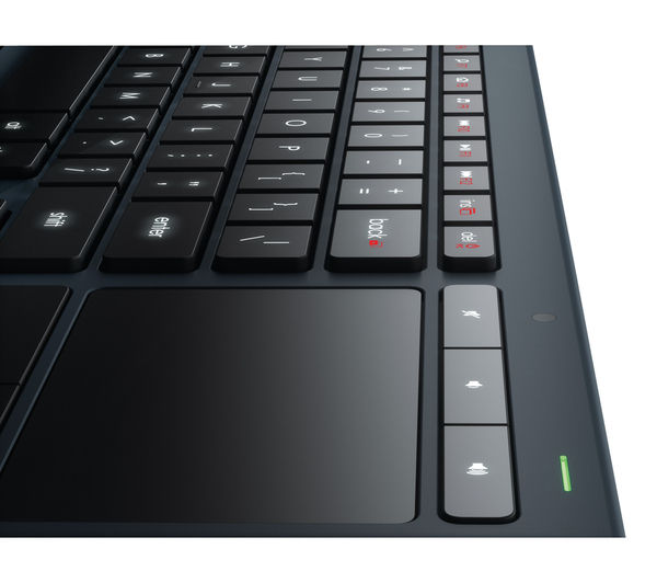 LOGITECH Illuminated Living Room K830 Wireless Keyboard