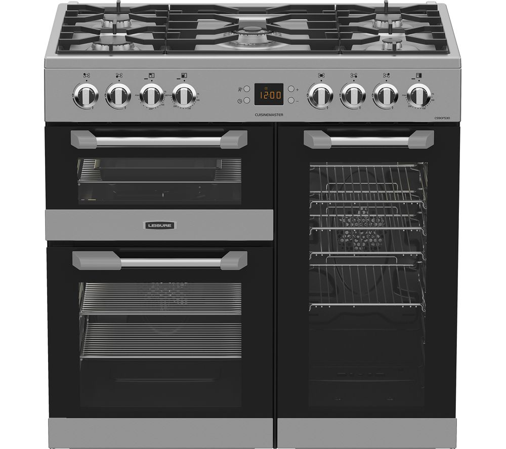 Buy Leisure Cuisinemaster Cs90f530x Dual Fuel Range Cooker