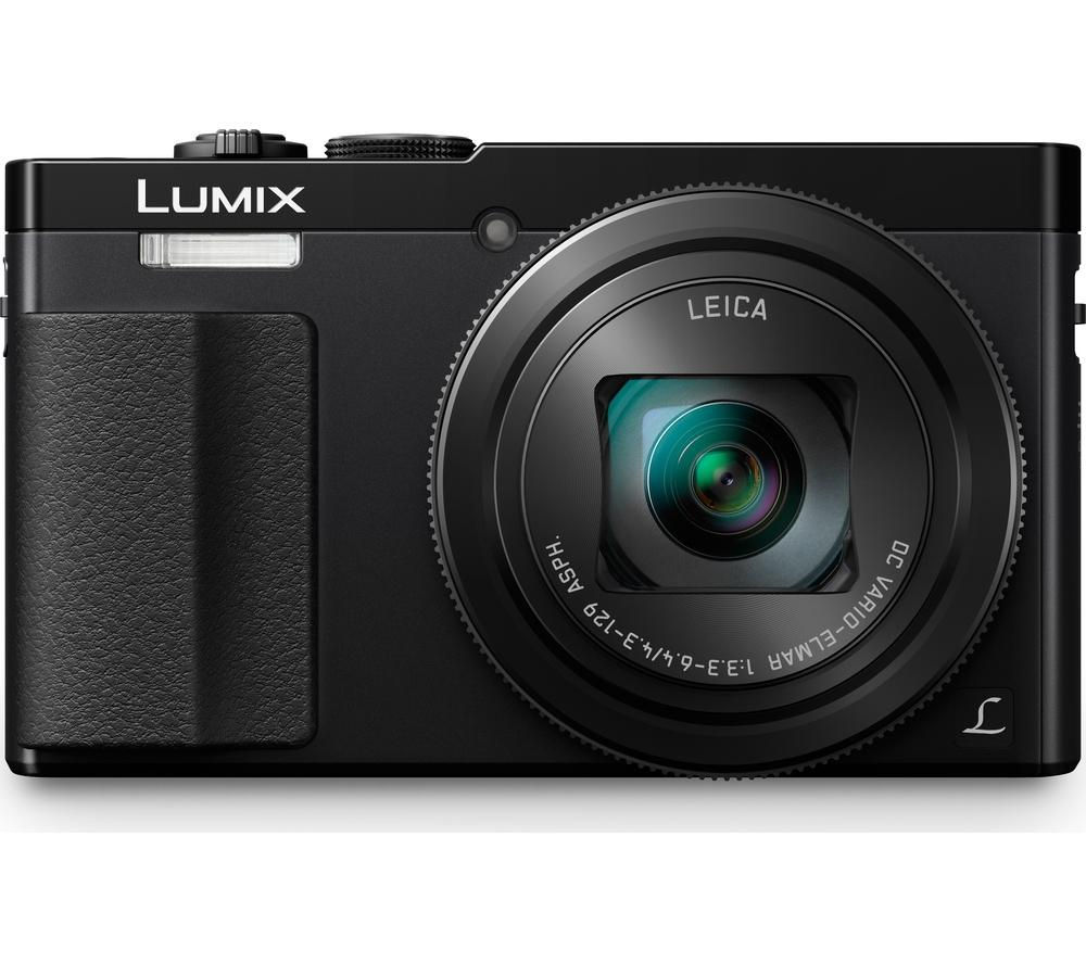 PANASONIC  Lumix DMCTZ70EBK Superzoom Compact Camera  Black Black