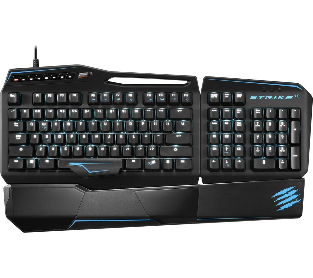 MAD CATZ S.T.R.I.K.E. TE Mechanical Gaming Keyboard