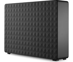 SEAGATE Expansion External Hard Drive - 4 TB, Black
