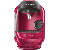TASSIMO by Bosch Vivy II TAS1251GB Hot Drinks Machine - Pink