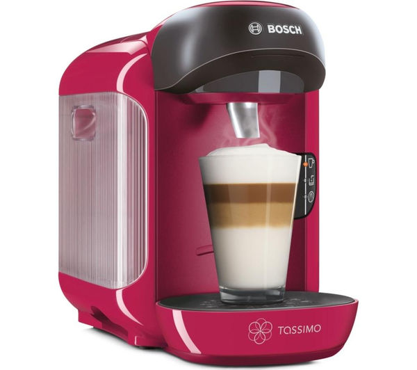 TASSIMO by Bosch Vivy II TAS1251GB Hot Drinks Machine  Pink + Costa