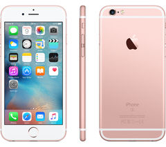 APPLE iPhone 6s - 16 GB, Rose Gold