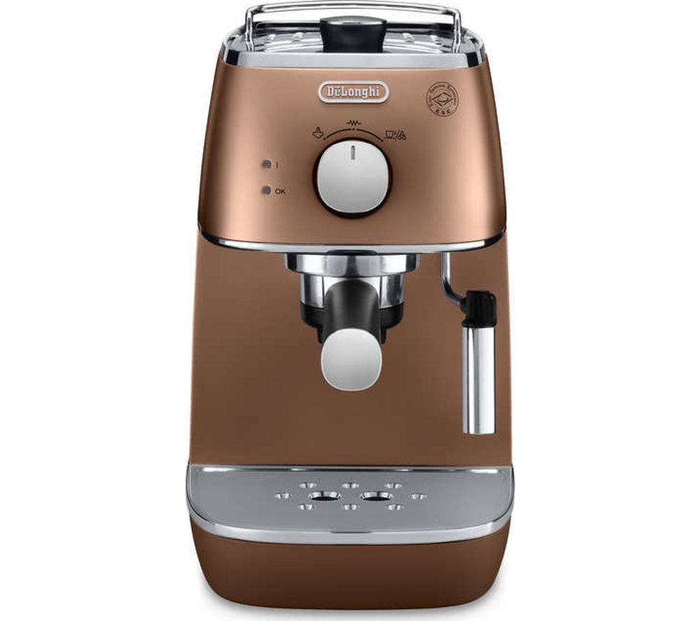 buy delonghi distinta eci341cp coffee machine copper. Black Bedroom Furniture Sets. Home Design Ideas