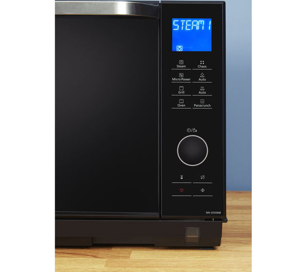 Panasonic Nn Ds596bbpq Combination Microwave Black