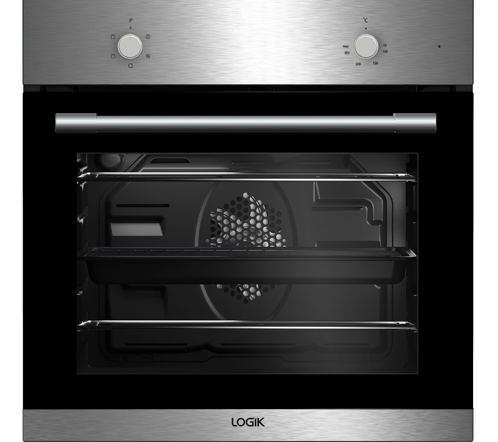 LOGIK  LBFANX16 Electric Oven  Stainless Steel Stainless Steel