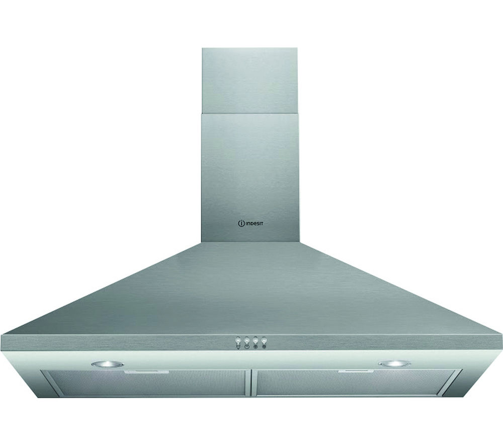 INDESIT  IHPC9.4AMX Chimney Cooker Hood  Stainless Steel Stainless Steel