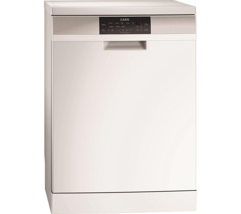 AEG  ProClean F88709W0P Fullsize Dishwasher  White White