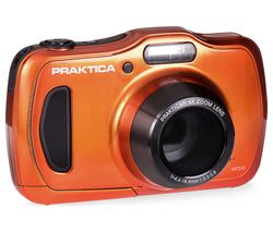 PRAKTICA Luxmedia WP240-BL Compact Camera - Orange