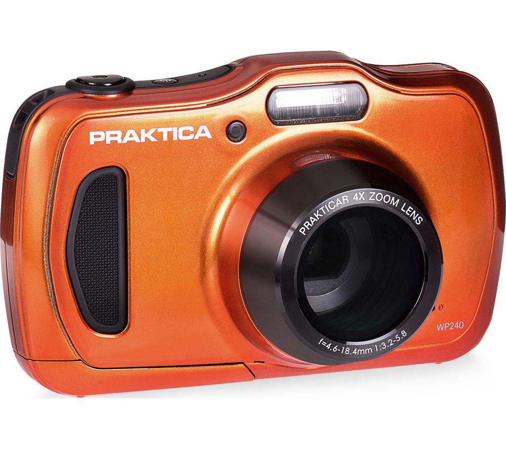 PRAKTICA Luxmedia WP240-BL Compact Camera - Orange