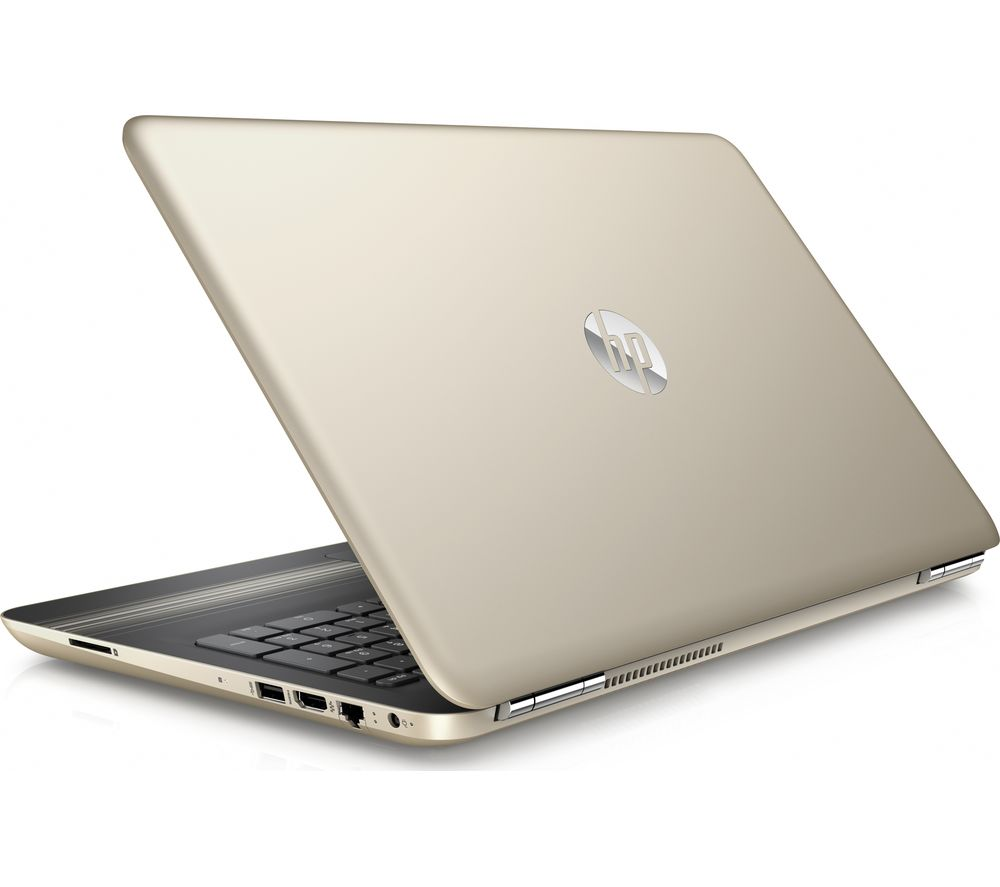 HP  Pavilion 15au179sa 15.6 Laptop  Gold Gold