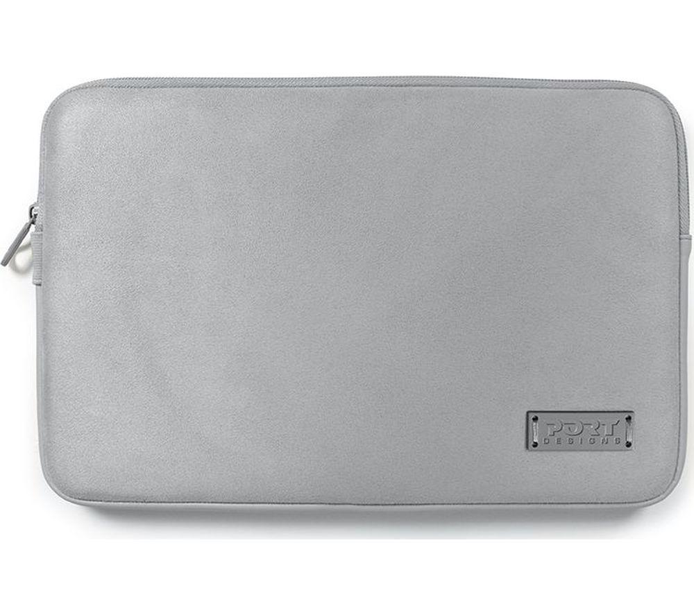 """PORT DESIGNS Milano 11"""" MacBook Sleeve - Silver"""
