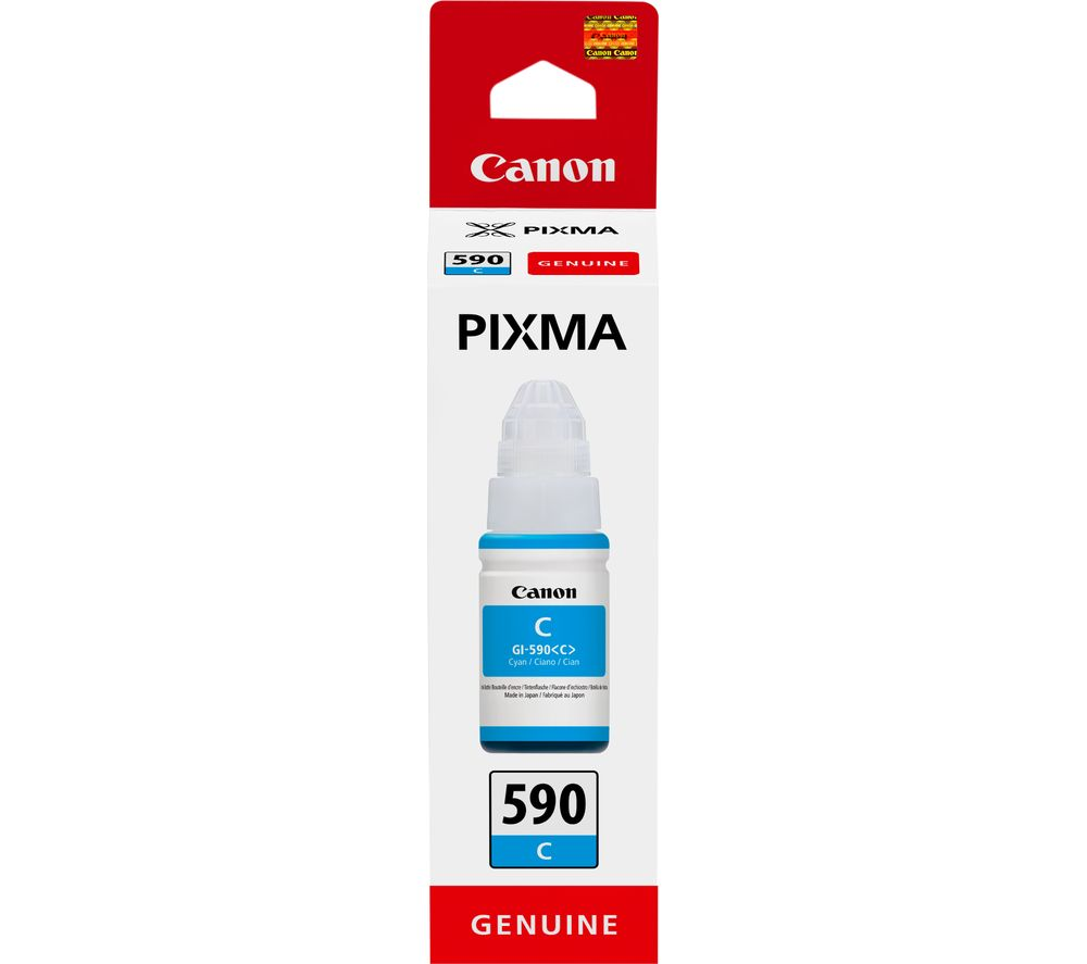 CANON GI-590C Cyan Ink Bottle