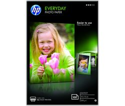 HP 100 x 150 mm Photo Paper - 100 Sheets