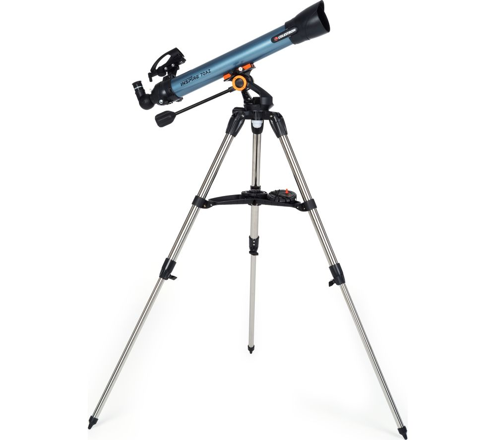 CELESTRON INSPIRE 70 Refractor Telescope - Blue