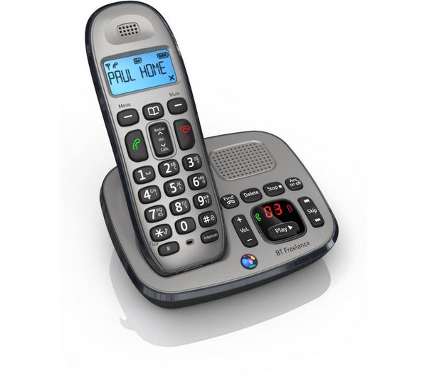Buy BT Freelance XD8500 Cordless Phone with Answering ...