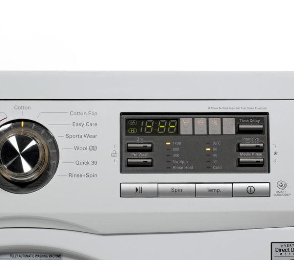 Lg Washer And Dryer Manufacturer Warranty ~ Buy lg f ad washer dryer white sisml p slimline