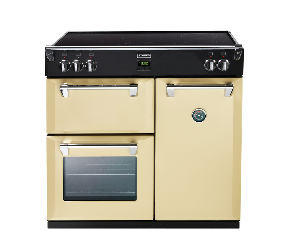 STOVES Richmond 900Ei Electric Induction Range Cooker - Cream