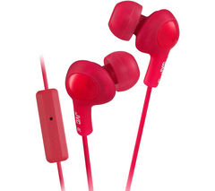 JVC Gumy HA-FR6-R-E Headphones - Red