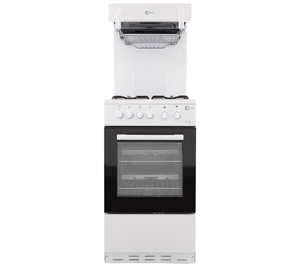 FLAVEL  FHLG51W Gas Cooker  White White