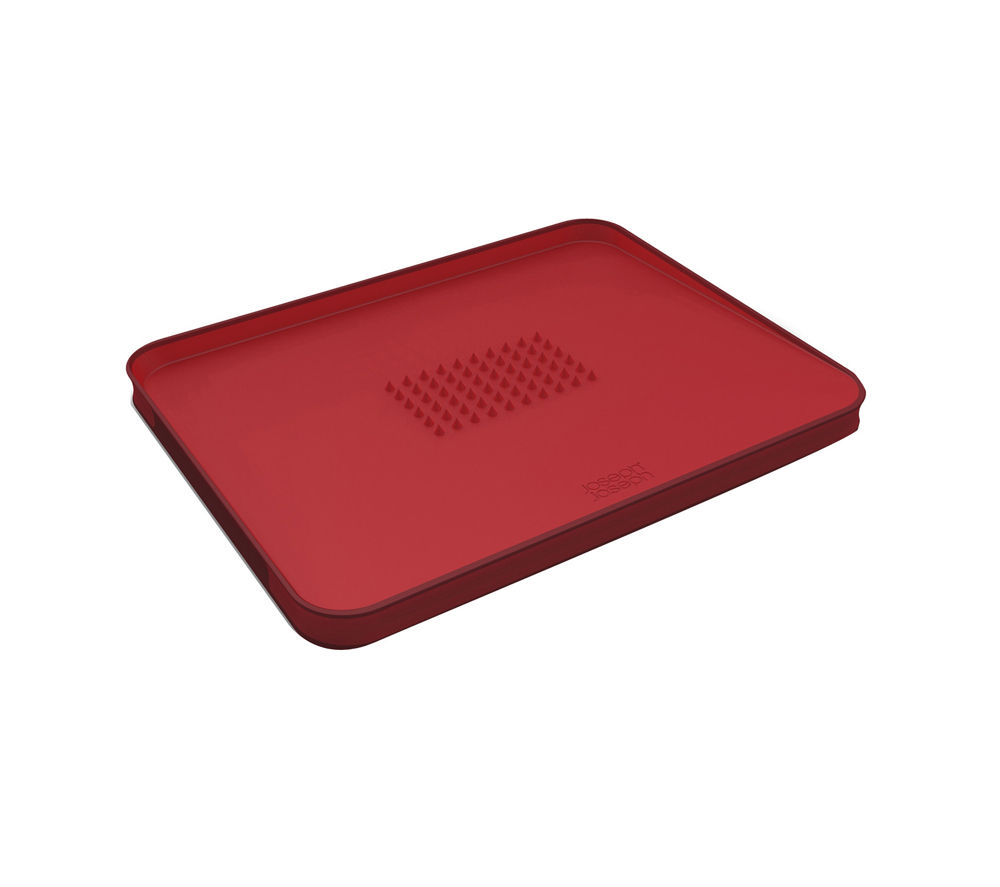 Image of JOSEPH JOSEPH 60004 Cut & Carve Plus Chopping Board - Red, Red