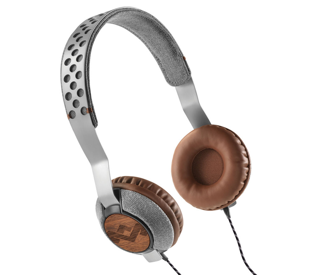 HOUSE OF MARLEY Liberate Saddle Headphones - Grey