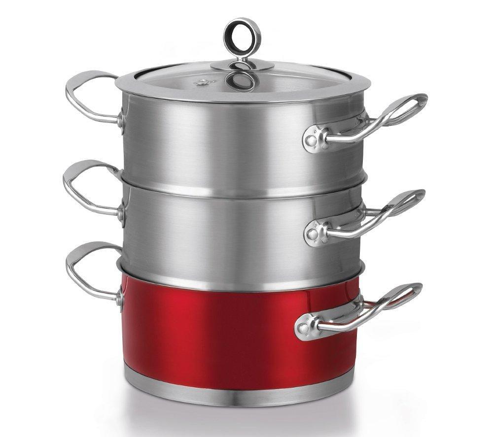 Morphy Richards Pots And Pans: Buy MORPHY RICHARDS 46381 18 Cm 3-Tier Steamer