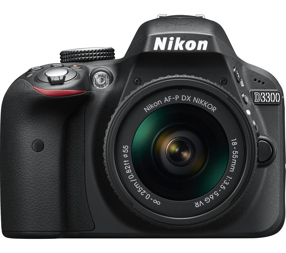 NIKON D3300 DSLR Camera with 18-55 mm f/3.5-5.6 VR II Zoom Lens