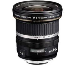 CANON EF-S 10-22 mm f/3.5-4.5 USM Wide-Angle Zoom Lens