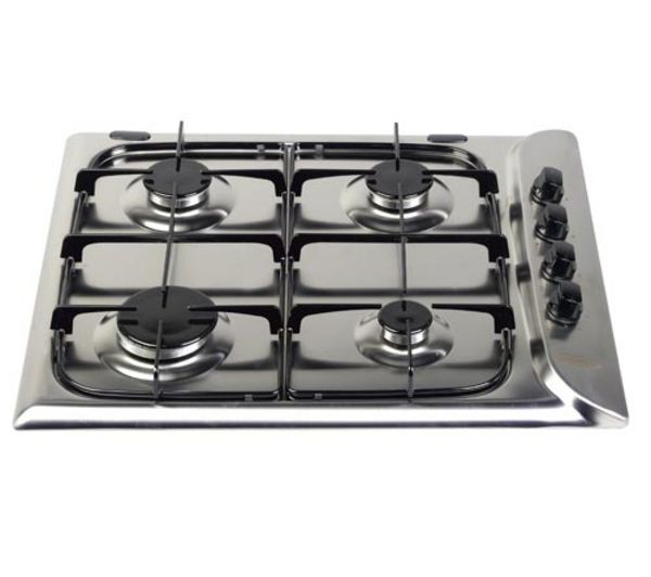 HOTPOINT G640SX Gas Hob - Stainless Steel