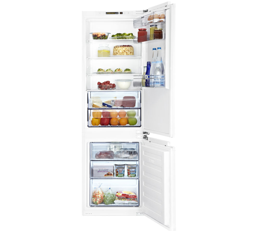 BEKO  Select BCE772F Integrated Fridge Freezer +  Select Wi1483 Integrated Washing Machine - White