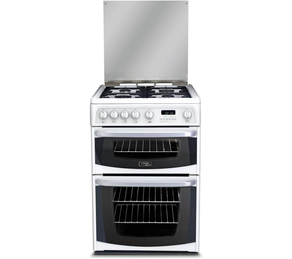 CANNON  CH60GCIW Gas Cooker  White White
