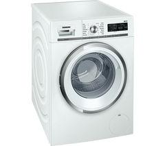 SIEMENS WM16W590GB Washing Machine - White